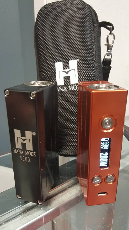 DNA200 only available here!!! Pre-production model sold out online. 200w with temperature control.