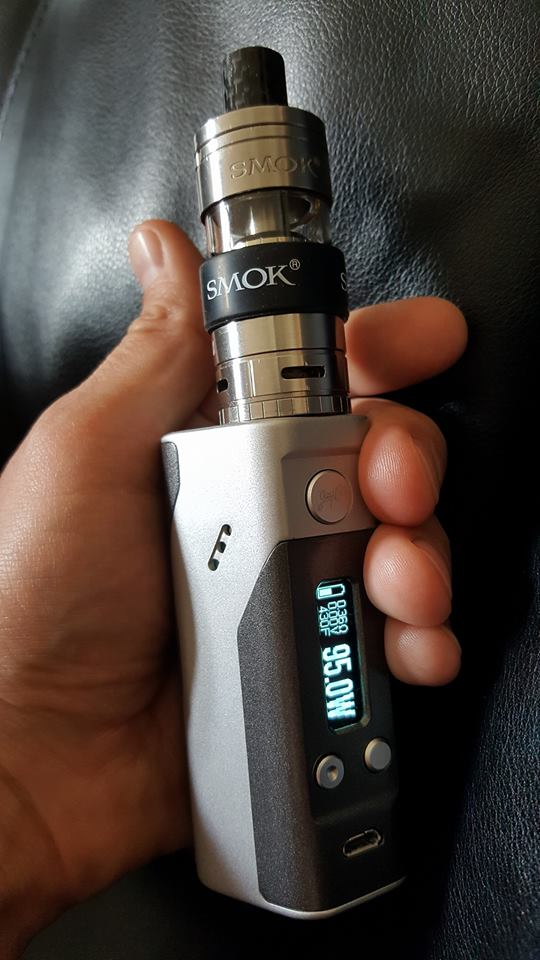 Hand check DNA200 available at ECF vape shop.